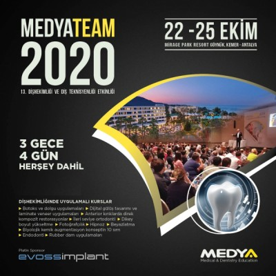 MEDYATEAM 2020-13. DENTISTRY AND DENTAL TECHNICIAN ACTIVITY